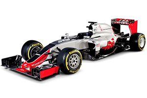 Haas car